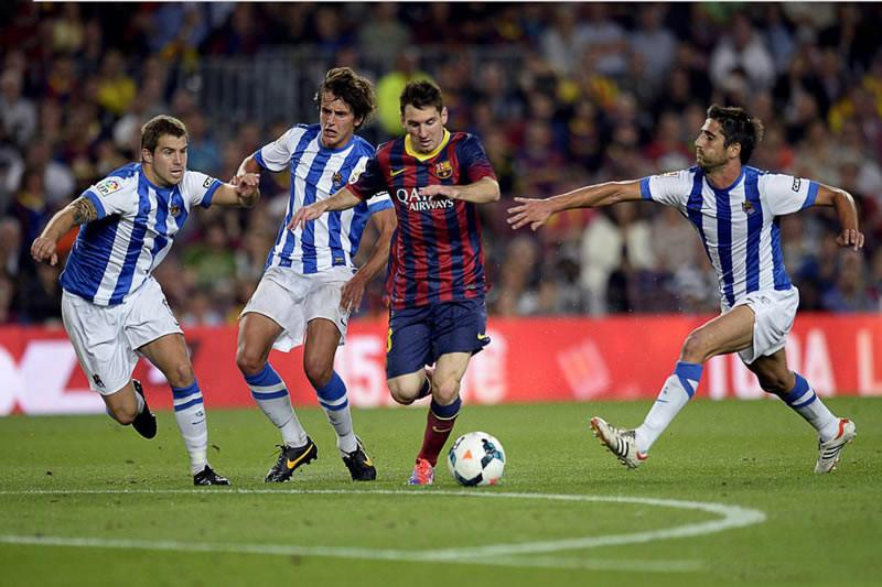 Barcelona vs Real Sociedad, Jornada 17 de la Liga BBVA - Barcelona-vs-Real-Sociedad-en-vivo-J17-Liga-BBVA-800x533