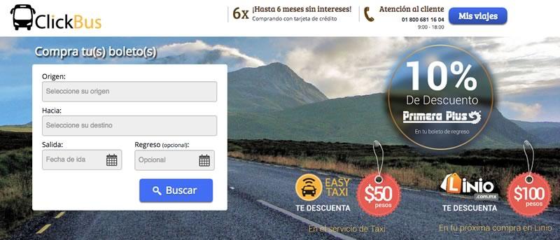 ClickBus, el sitio para comprar boletos de autobús cumple un año - Clickbus-comprar-boletos-autobus