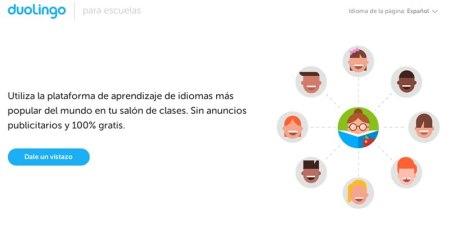 Duolingo lanza una plataforma para escuelas