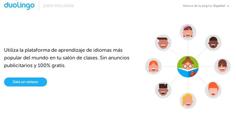 Duolingo lanza una plataforma para escuelas - Duolingo-para-escuelas