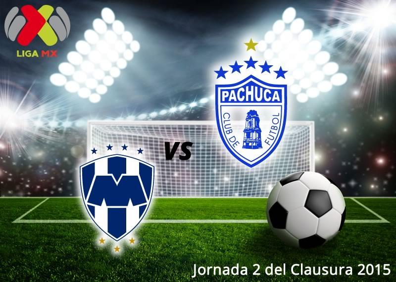 Monterrey vs Pachuca, Jornada 2 del Clausura 2015 - Monterrey-vs-Pachuca-en-vivo-Clausura-2015