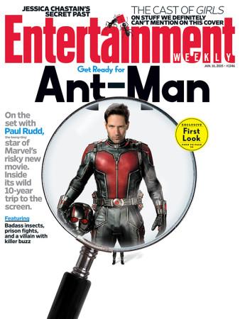 Ant-Man: Mira el primer teaser tráiler de la nueva película de Marvel - Paul-Rudd-como-Ant-Man-338x450