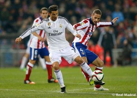 Real Madrid vs Atlético de Madrid, vuelta de la Copa del Rey