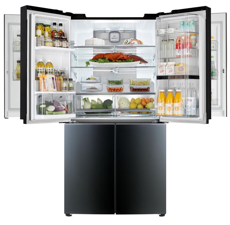 Conoce el primer refrigerador de Mega capacidad con doble Door-In-Door de LG - Refrigerador-LG-Door-in-Door