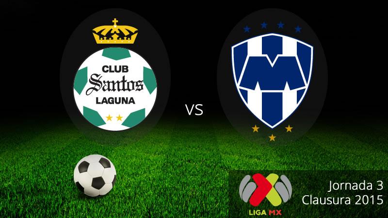 Santos vs Monterrey, Jornada 3 del Clausura 2015 - Santos-vs-Monterrey-en-vivo-Clausura-2015