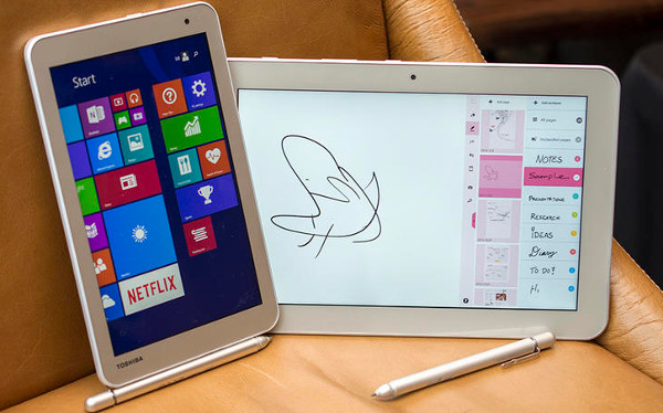 Lo mejor del CES 2015 - Día Tres [Resumen] - Toshiba-tableta
