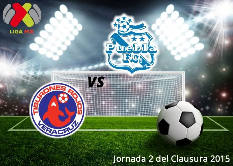 Veracruz vs Puebla en la jornada 2 del Clausura 2015 - Veracruz-vs-Puebla-en-vivo-Clausura-2015
