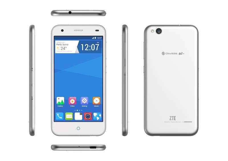 ZTE presentó el Blade S6 4G LTE con Smart Sense - ZTE-Blade-S6-4G-LTE-Plata
