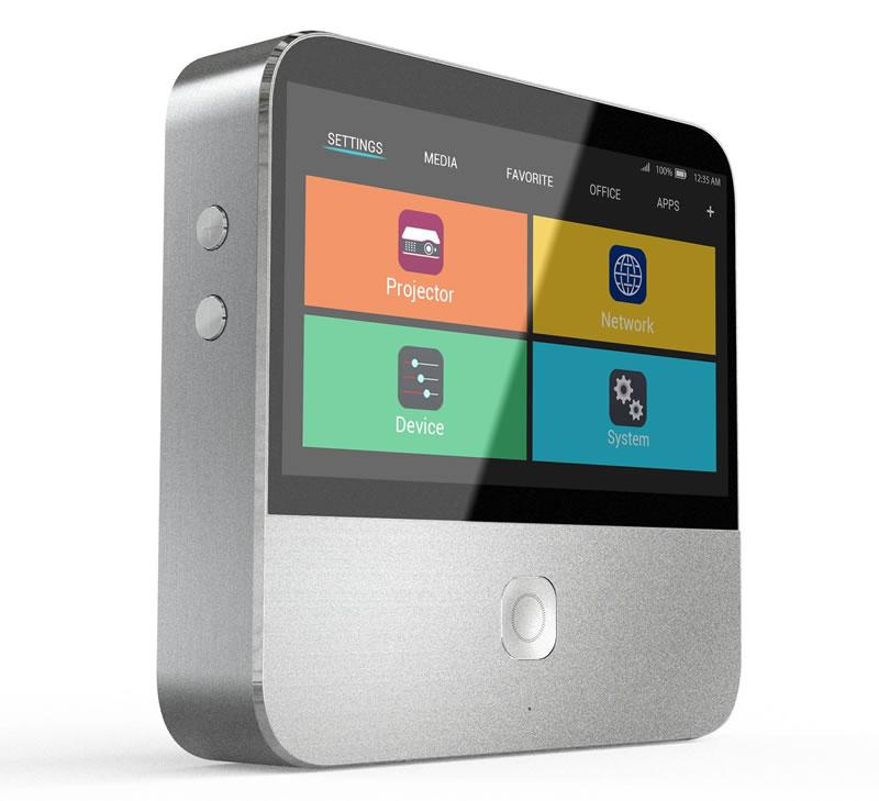 ZTE presenta el proyector inteligente Spro 2, en el CES 2015 - ZTE-Spro-2-Proyector