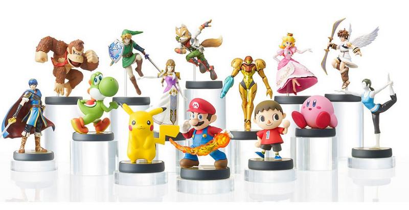 Ventas de Amiibo superan en unidades a las de Super Smash Bros Wii U - figuras-amiibo