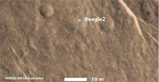 Encuentran sonda Beagle 2 en Marte después de 12 años de misterio - sonda-beagle-2-marte