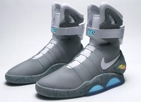 Nike afirma lanzará los tenis de volver al futuro en 2015