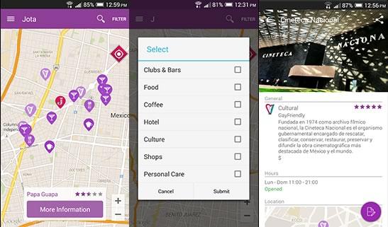 """Jota"", app que promueve la aceptación LGBT en México - App-Jota"