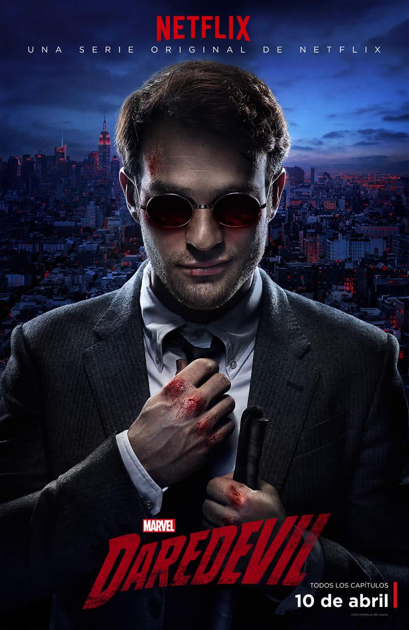 Daredevil de Netflix presenta su poster oficial de la temporada 1 - Daredevil-Netflix-Poster