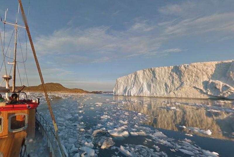 El gélido paisaje de Groenlandia llega a Google Street View. - Google-Street-View-Groenlandia-800x537