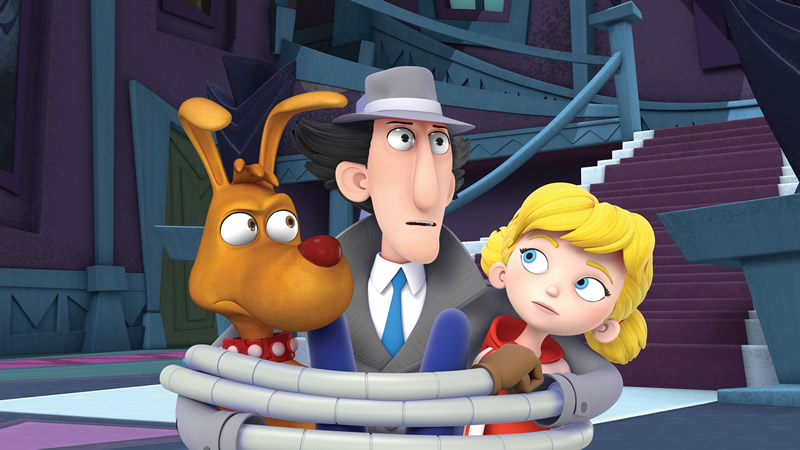 Netflix anuncia nuevas series para niños - Inspector-Gadget