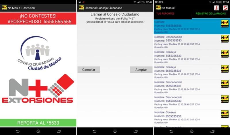 No Más XT, La app para evitar extorsiones telefónicas - No-Mas-Extorsiones-No-Mas-XT-App