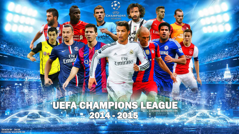 Comienzan los octavos de final de la Champions League 2014 - 2015 - Octavos-de-final-Champions-League-2014-2015