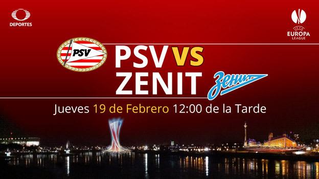 PSV vs Zenit en la Europa League 2014 - 2015 - PSV-vs-Zenit-en-vivo-Europa-League