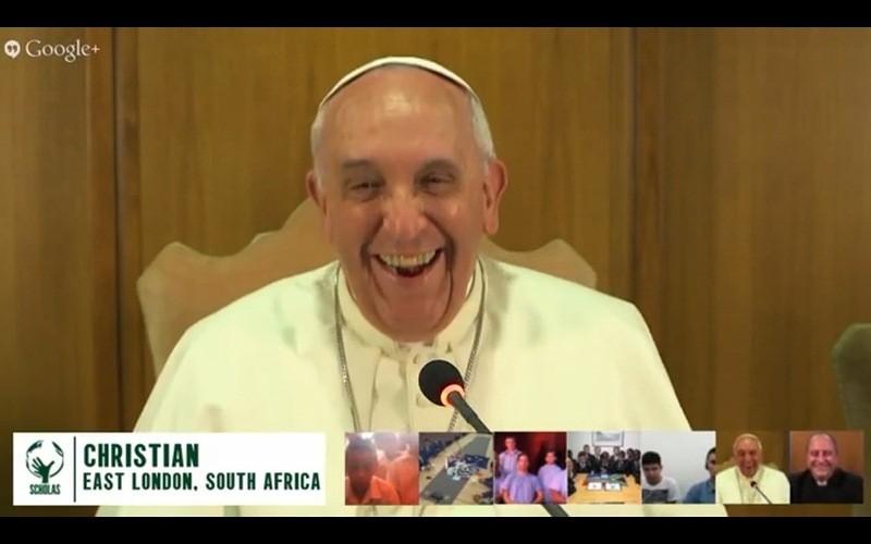 El Papa sostendrá una conversación en Google Hangout esta semana. - Papa-hangout-800x500