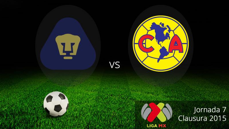 Pumas vs América, el clásico capitalino en el Clausura 2015 - Pumas-vs-America-en-vivo-Clausura-2015