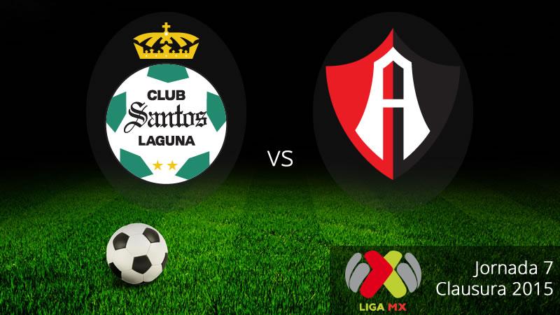 Santos vs Atlas, Jornada 7 del Clausura 2015 - Santos-vs-Atlas-en-vivo-Clausura-2015