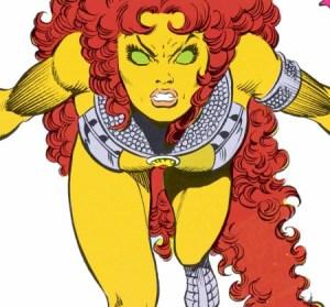 Teen Titans: ¿Quiénes serán los personajes de la serie de DC? - The-Titans_Starfire-e1423031287820-450x419