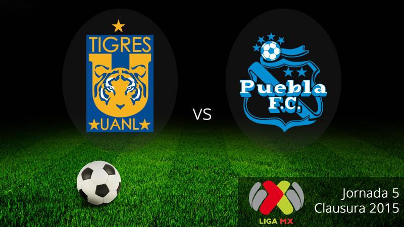 Tigres vs Puebla, Jornada 5 del Clausura 2015 - Tigres-vs-Puebla-en-vivo-Clausura-2015