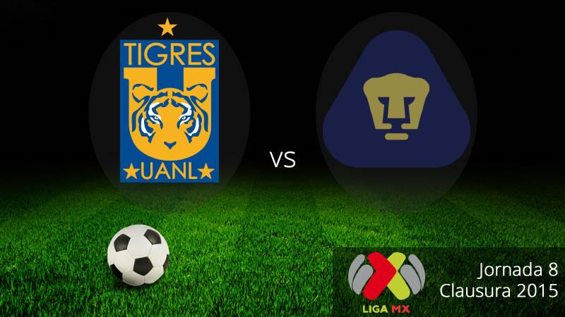 Tigres vs Pumas en el Clausura 2015 - Tigres-vs-Pumas-en-vivo-Clausura-2015
