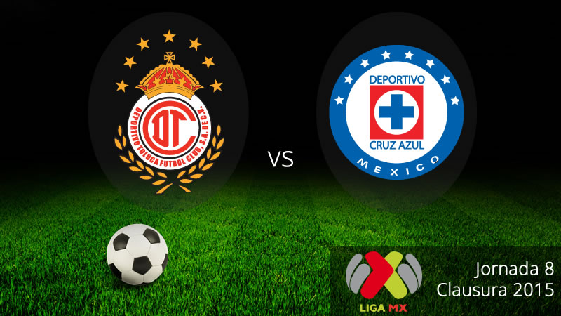 Toluca vs Cruz Azul, Jornada 8 del Clausura 2015 - Toluca-vs-Cruz-Azul-en-vivo-Clausura-2015