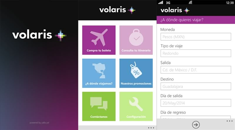 Volaris lanza su app para Windows Phone - Volaris-para-Windows-Phone
