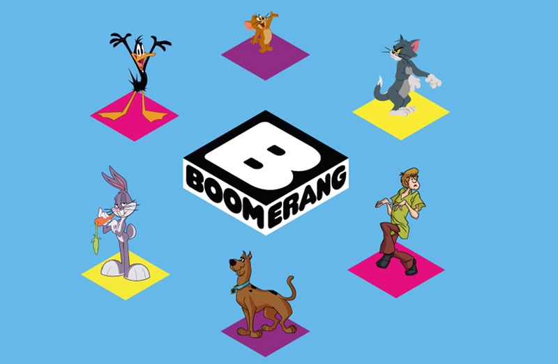 El nuevo Boomerang ha sido un éxito en Latinoamérica. - boomerang-latinoamerica