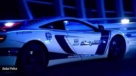 Estos son los superautos de lujo que utiliza la policia de Dubai