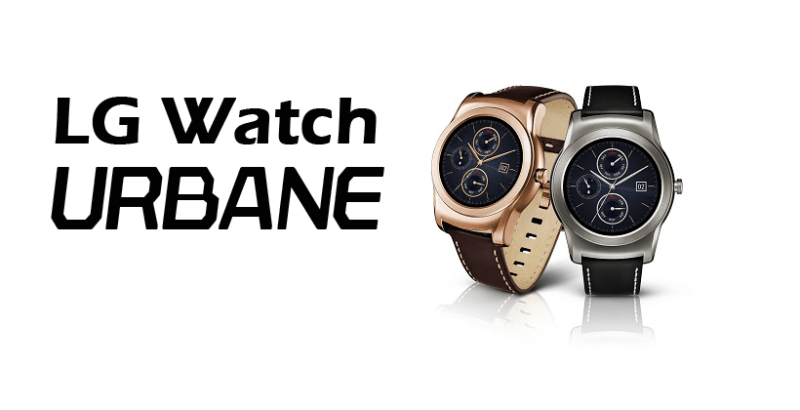 LG prepara lucha contra el Apple Watch con su primer smartwatch metalizado. - urbane-800x410