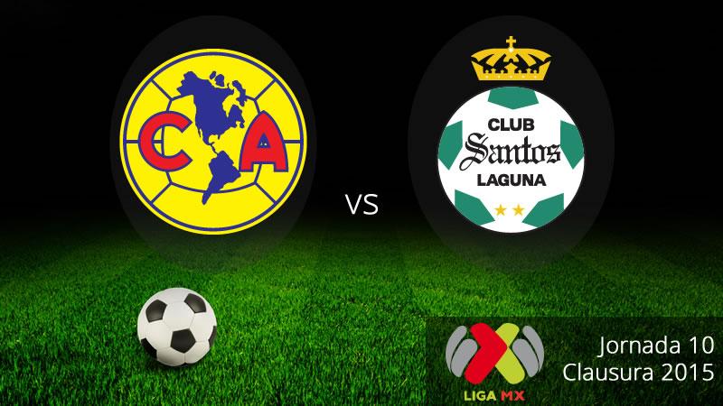América vs Santos en el Clausura 2015 Liga MX - America-vs-Santos-Clausura-2015