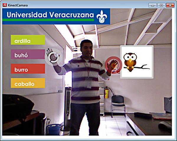 Crean software que enseña a leer en forma divertida a débiles auditivos - Aprender-a-leer-con-Kinect