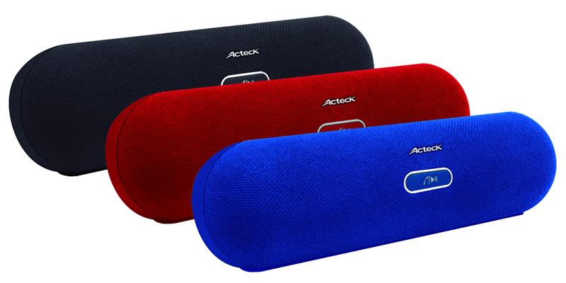 Acteck lanza la bocina inalámbrica PL-300 con conexión NFC y Bluetooth - Bocinas-inalambricas-NFC-Bluetooth-Acteck