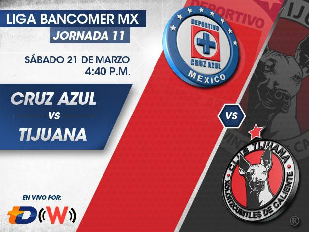 Cruz Azul vs Tijuana en el Clausura 2015 - Cruz-Azul-vs-Xolos-en-vivo-Clausura-2015