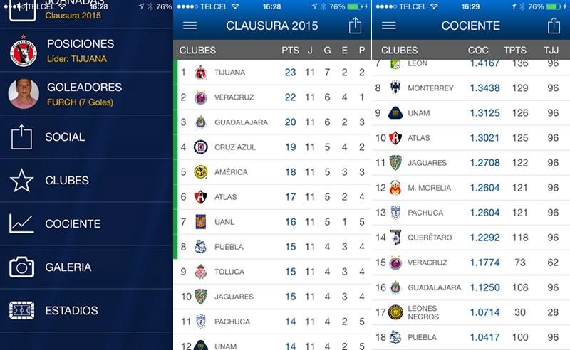 Lanzan la app de la Liga MX para iOS y Android - Descargar-app-Liga-MX
