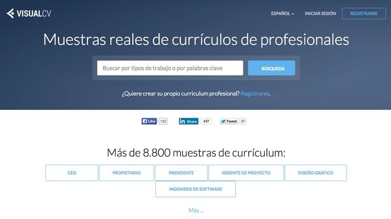 VisualCV ahora muestra ejemplos de currículum reales - Ejemplos-de-curriculum-VisualCV