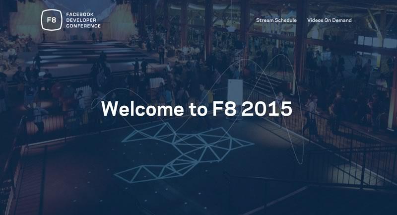 En vivo: Facebook Developer Conference F8 2015 por stream - Facebook-F8-2015-en-vivo