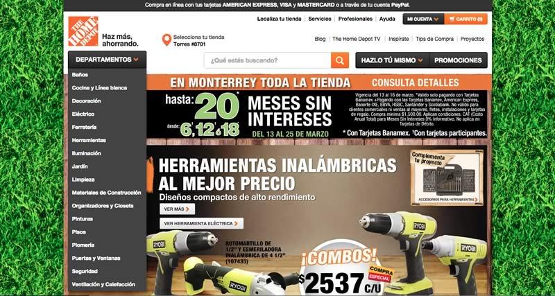 The Home Depot abre su tienda en línea para México - Home-Depot-tienda-en-linea