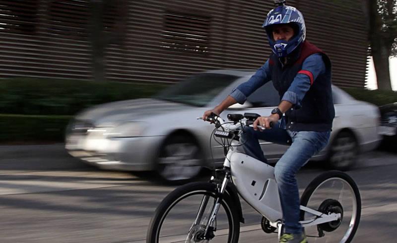 Hybridus, la bici-moto eléctrica creada por mexicanos - Hybridus-moto-bicicleta-electrica-mexicanos