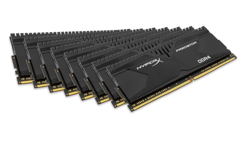 HyperX lanza memoria FURY DDR4 y kits Predator DDR4 de 32GB y 64GB - HyperX-Predator-DDR4