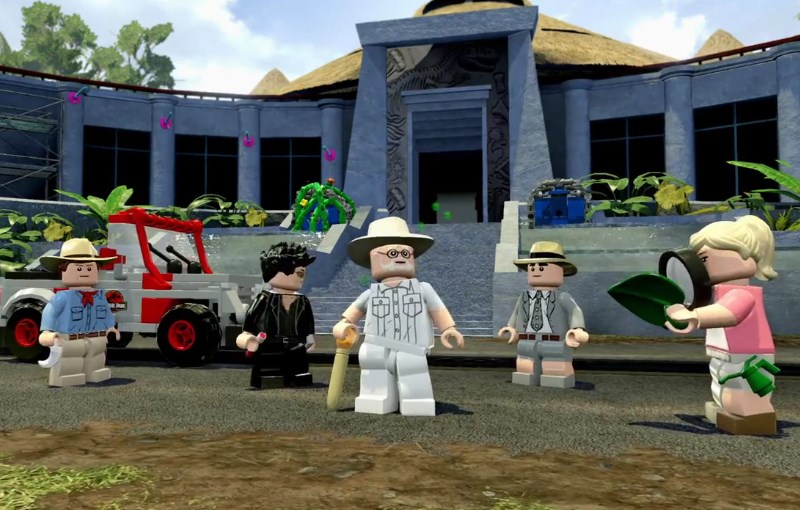 Trailer oficial del juego LEGO Jurassic World - LEGO-Jurassic-World