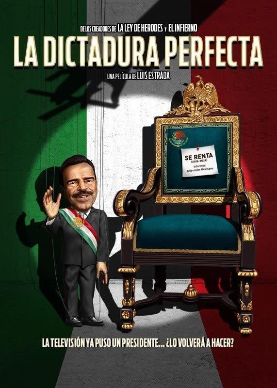 La Dictadura Perfecta se estrena en Netflix el 27 de Marzo - La-Dictadura-Perfecta-Poster