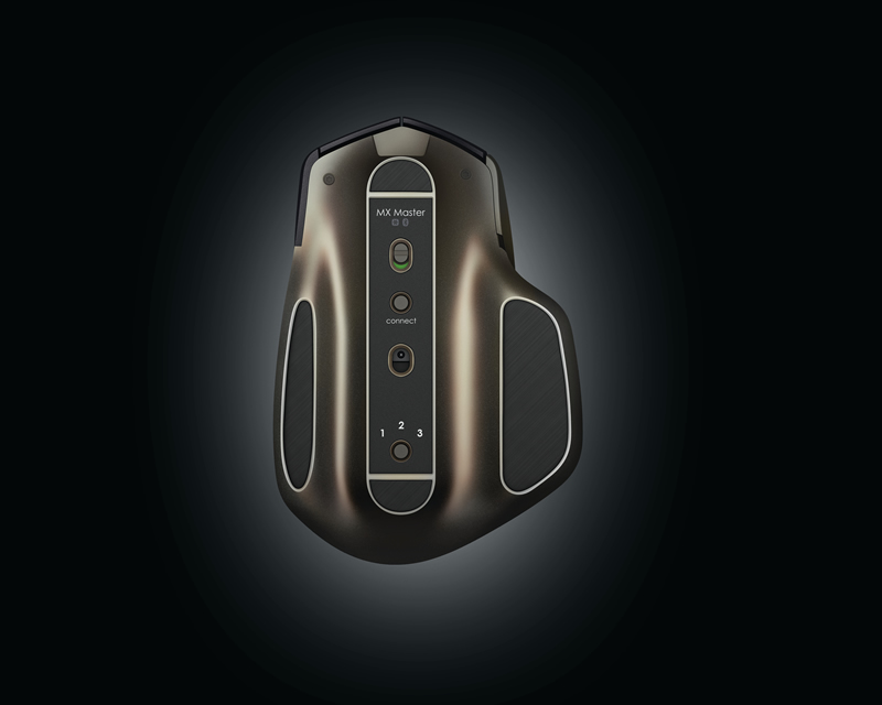 Logitech presenta el ratón inalámbrico MX Master más avanzado - Logitech-MX-Master-Raton