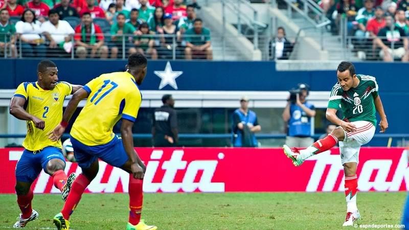 México vs Ecuador, Amistoso 2015 en fecha FIFA - Mexico-vs-Ecuador-Amistoso-2015-800x450