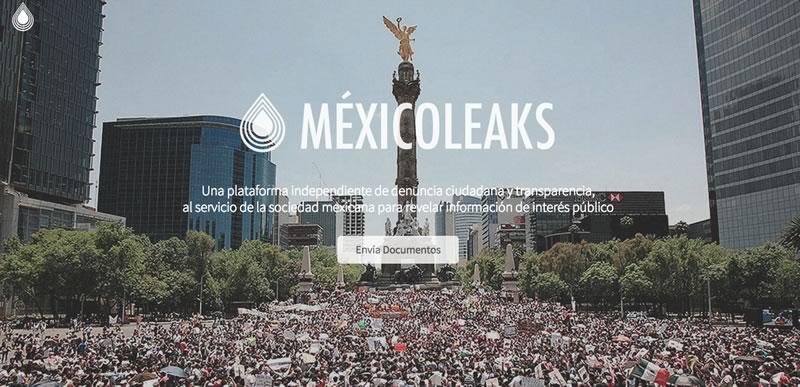 MéxicoLeaks, la plataforma para filtraciones anónimas de México - MexicoLeaks