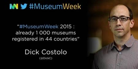 #MuseumWeek 2015, el primer evento mundial de cultura en Twitter